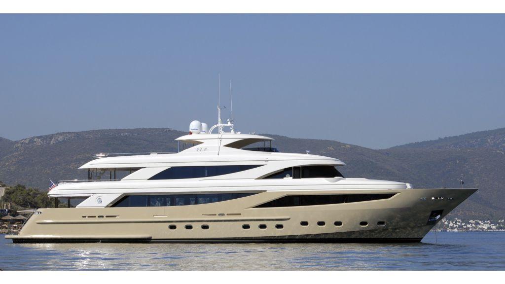 motor yacht steel-master