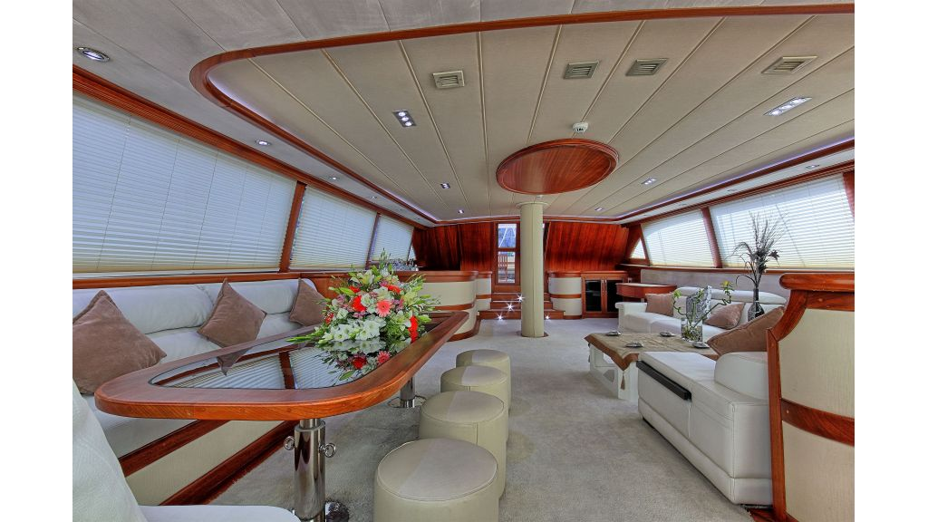 Radical design luxury gulet (60)