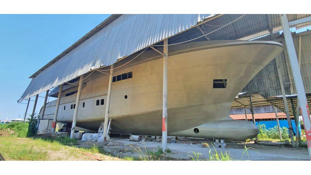 Steel Hull Motor yacht