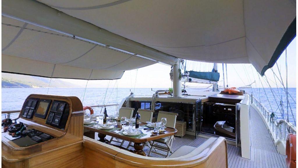 Steel hull charter gulet (5)