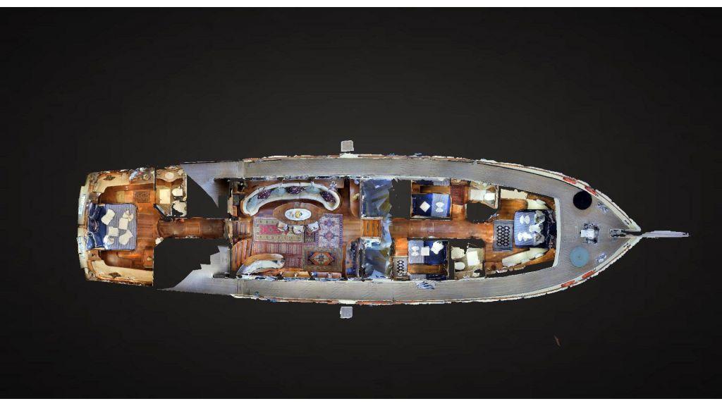 Steel hull charter gulet (6)