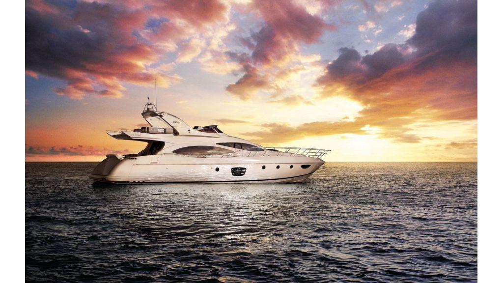 Azimut 68 motor-yacht master