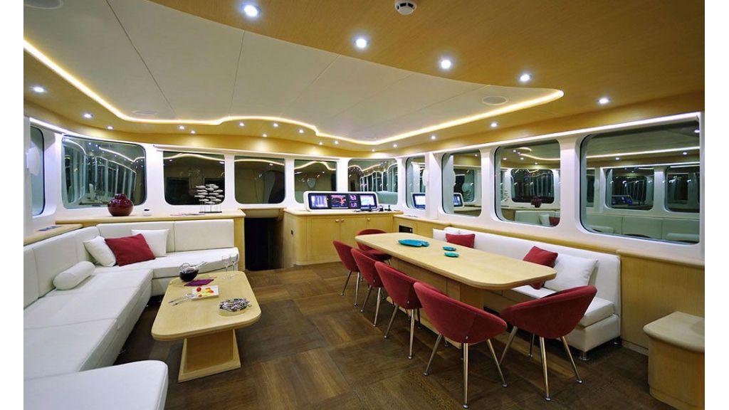 Jasmine Forever Luxury Sailing Yacht master