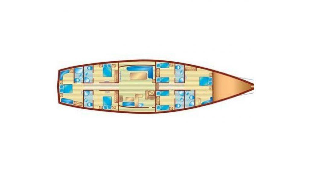 2 Masted Turkish Gulet (28)