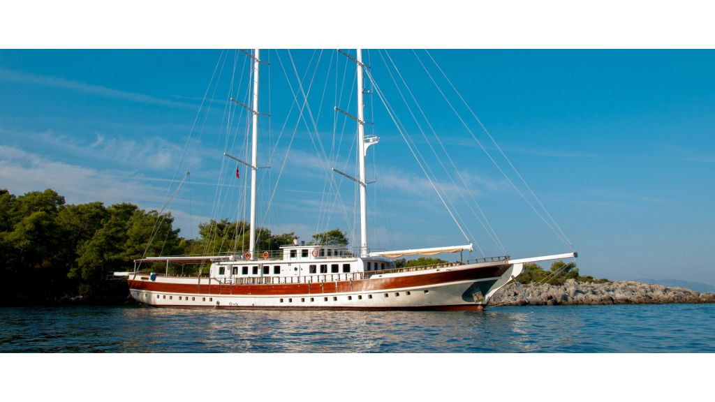 42 m schooner for sale