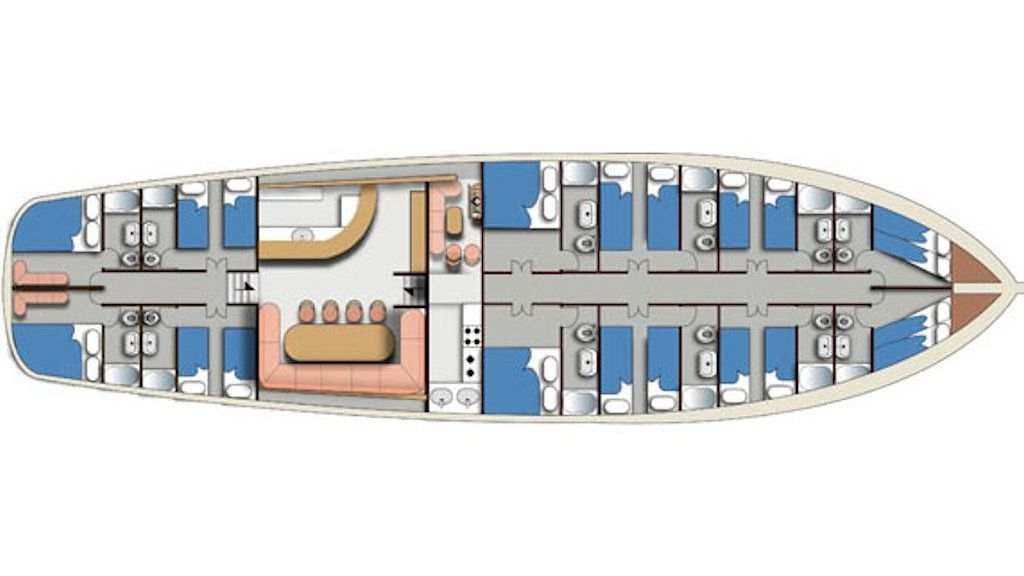 Turkish Commercial Charter Yacht for Sale (38)