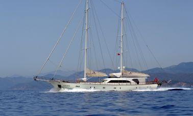 Alessandro Luxury sailing yacht master