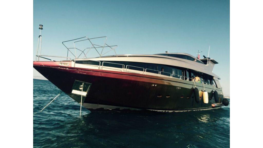 aluminium hull motor yacht