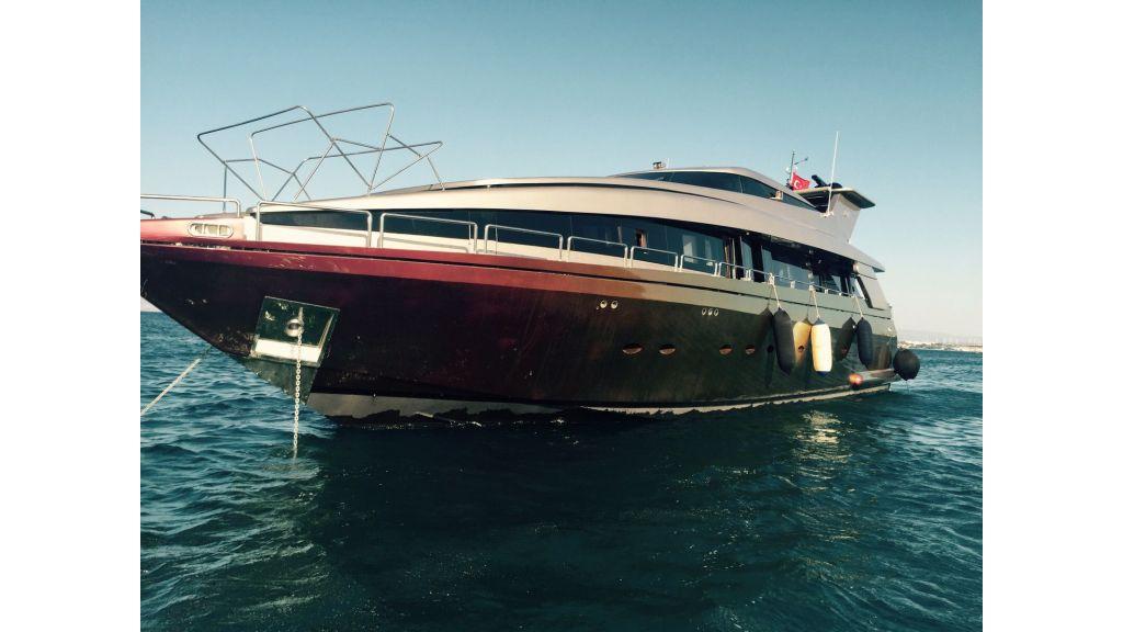 aluminium hull motor yacht master