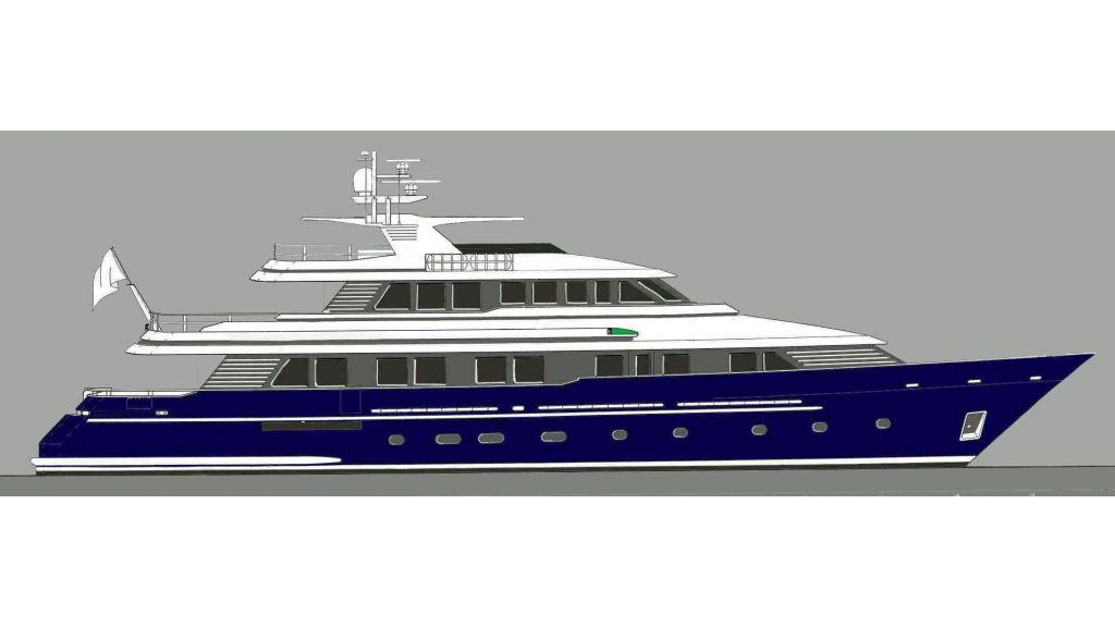 Steel Aluminium Motor yacht (4)