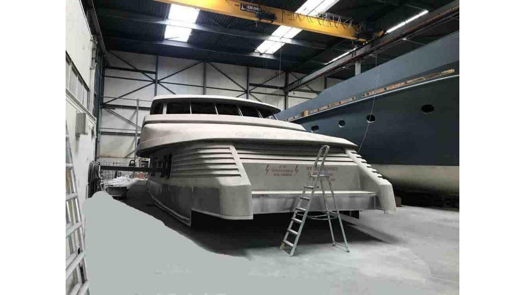 Steel Aluminium Motor yacht (5)