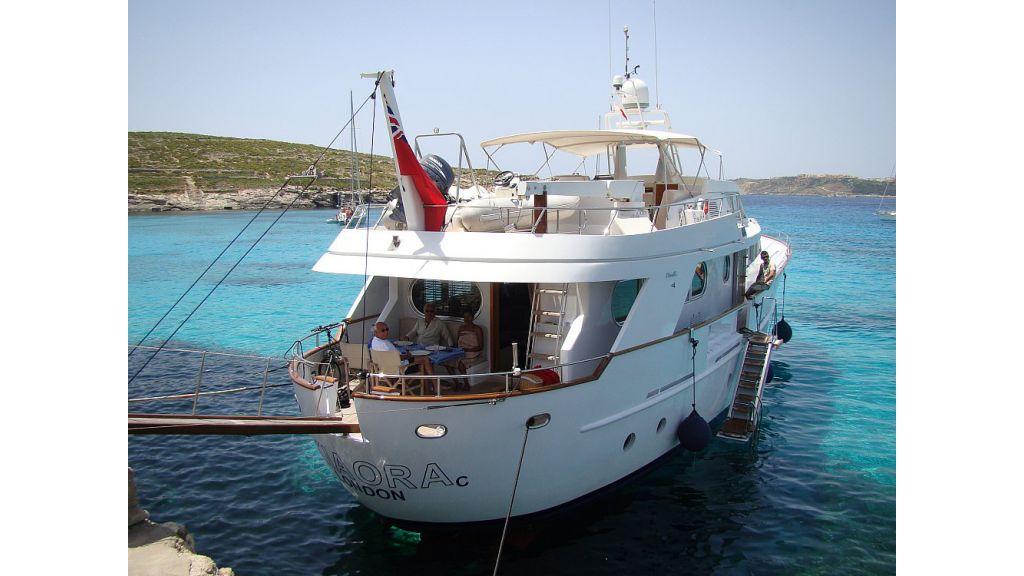 Kia Ora C motoryacht