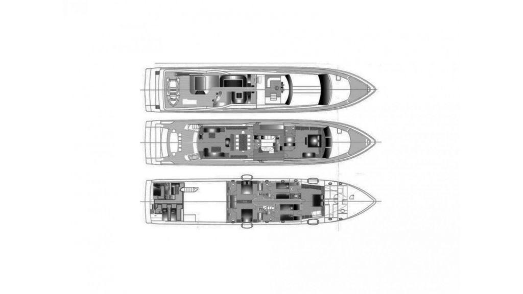 White Motoryacht