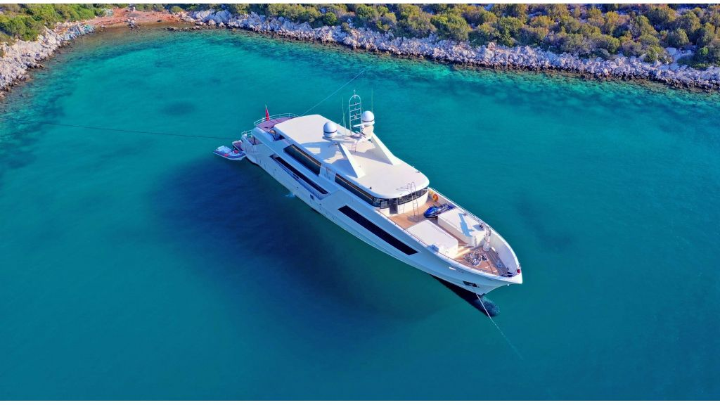 Vetro motor yacht for charter