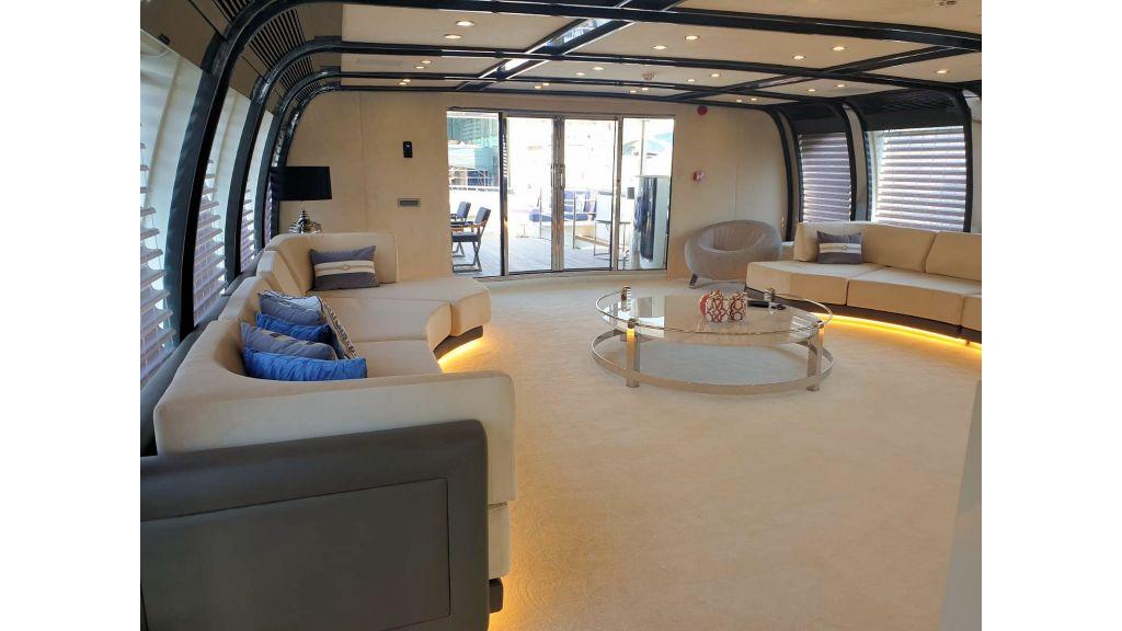 Vetro Motor Yacht - Upper Saloon 16