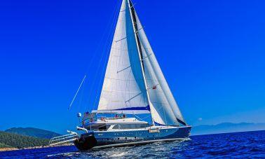 Gulmaria sailing