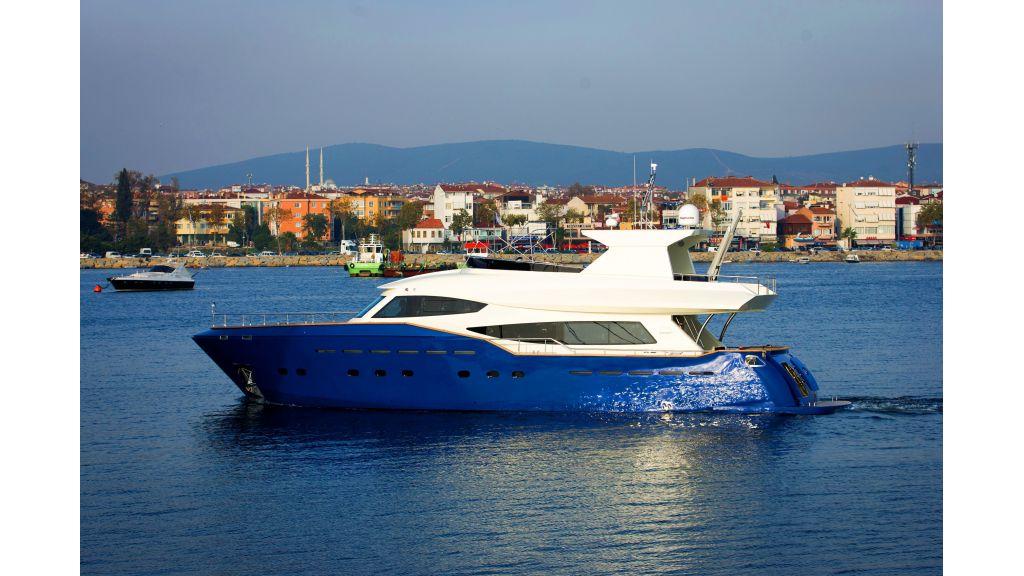 Motoryacht Anemos - master