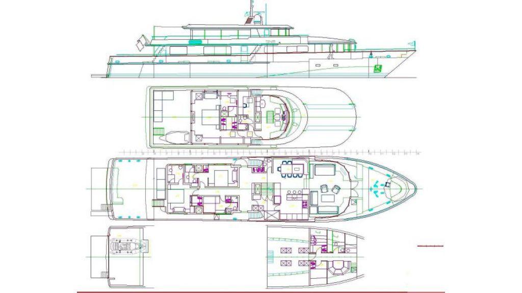 Navetta 36 m Aluminum hull motoryacht