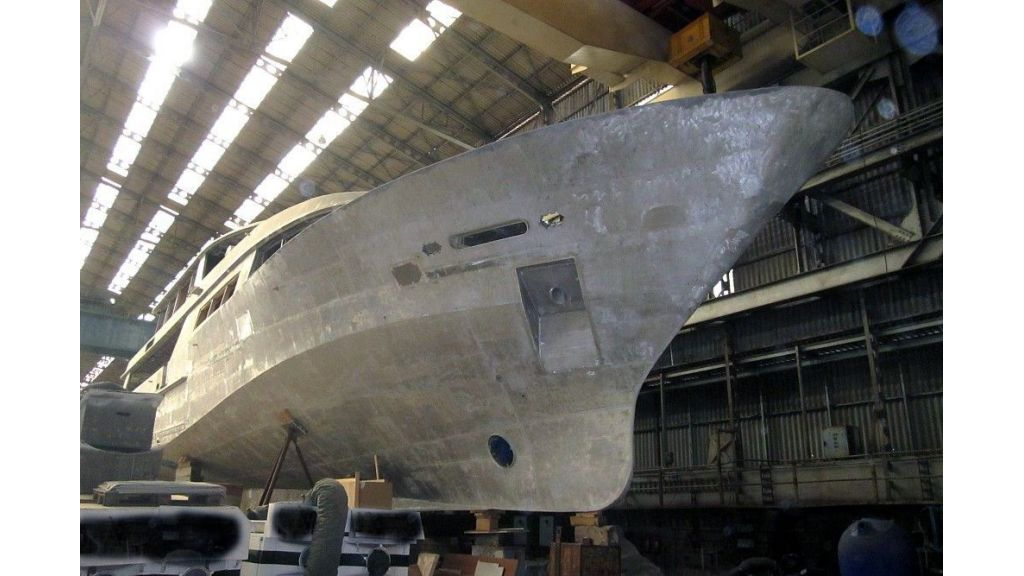 Navetta 36 m Aluminum hull motoryacht (4)
