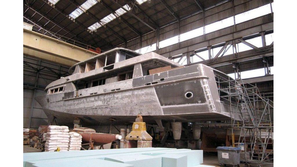 Navetta 36 m Aluminum hull motoryacht (5)