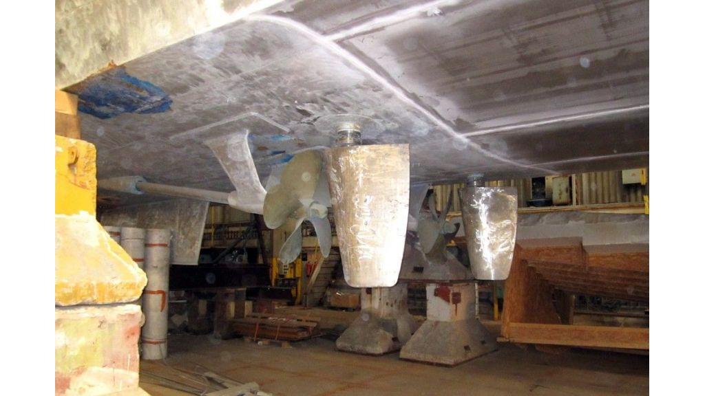 Navetta 36 m Aluminum hull motoryacht (6)