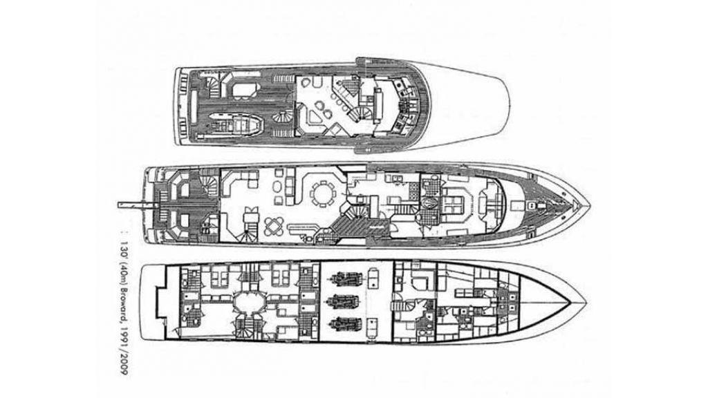 40 m Aluminium Hull Motoryacht