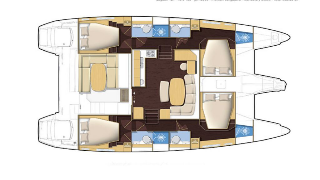 Lagoon 421 Catamaran