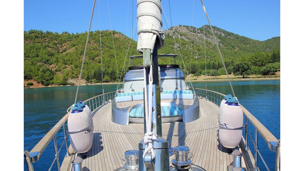 silver k Sailing Yacht