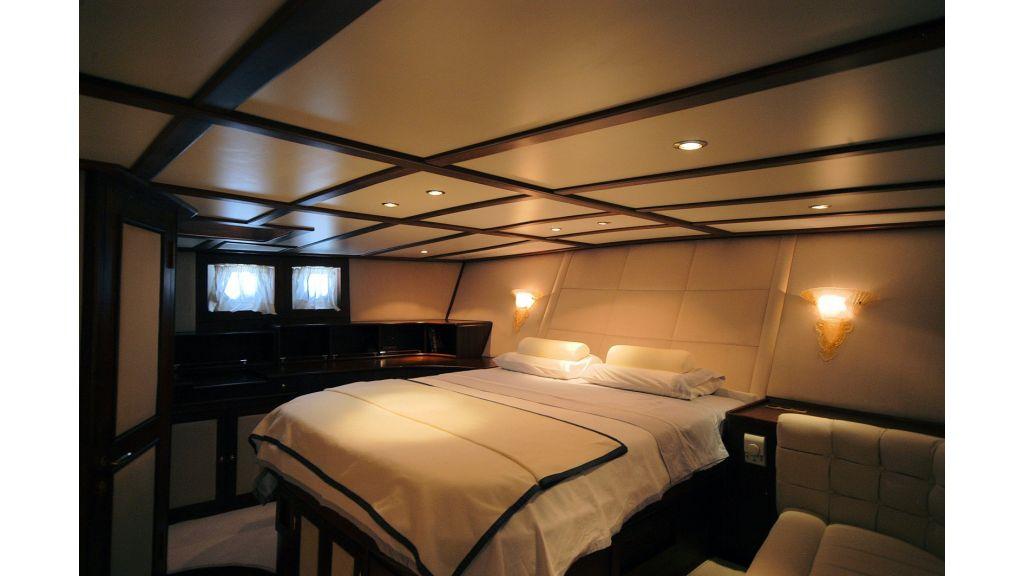 Classic Schooner for Sale Master Room from corner