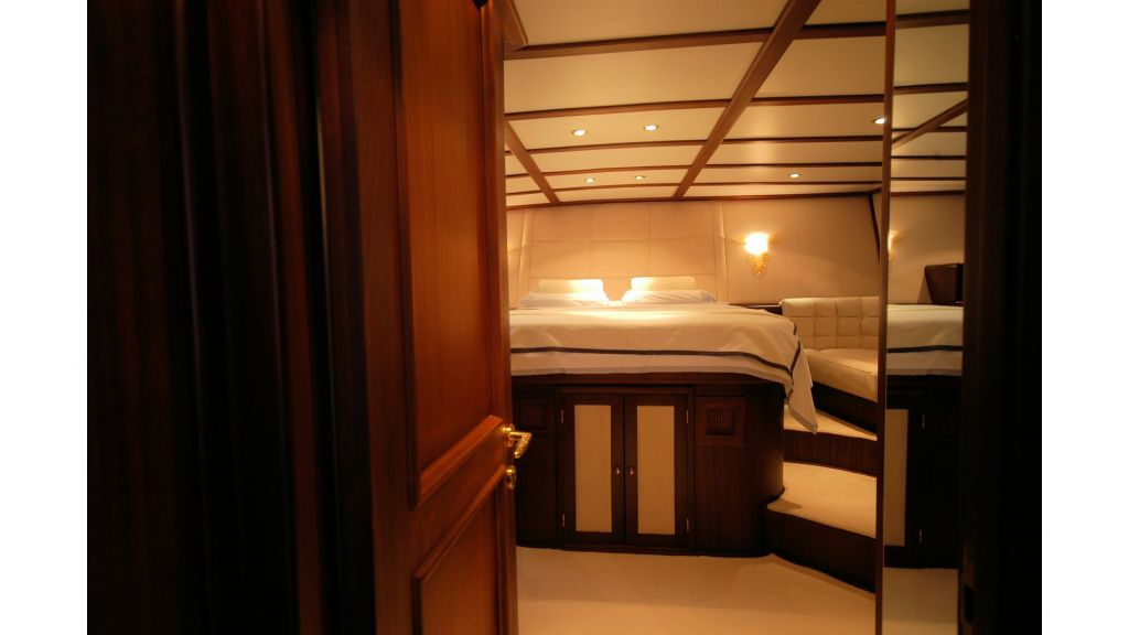 Classic Schooner for Sale Master Room from door
