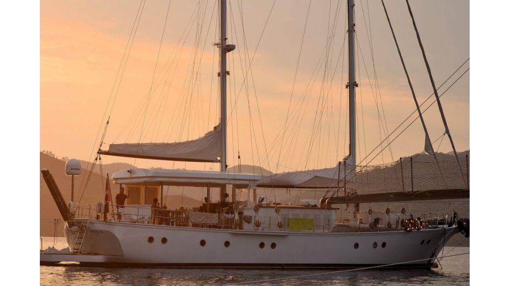 Classic Schooner for Sale Sailing