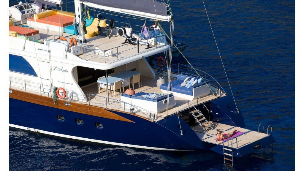L Aqiula luxury Sailing Yacht master