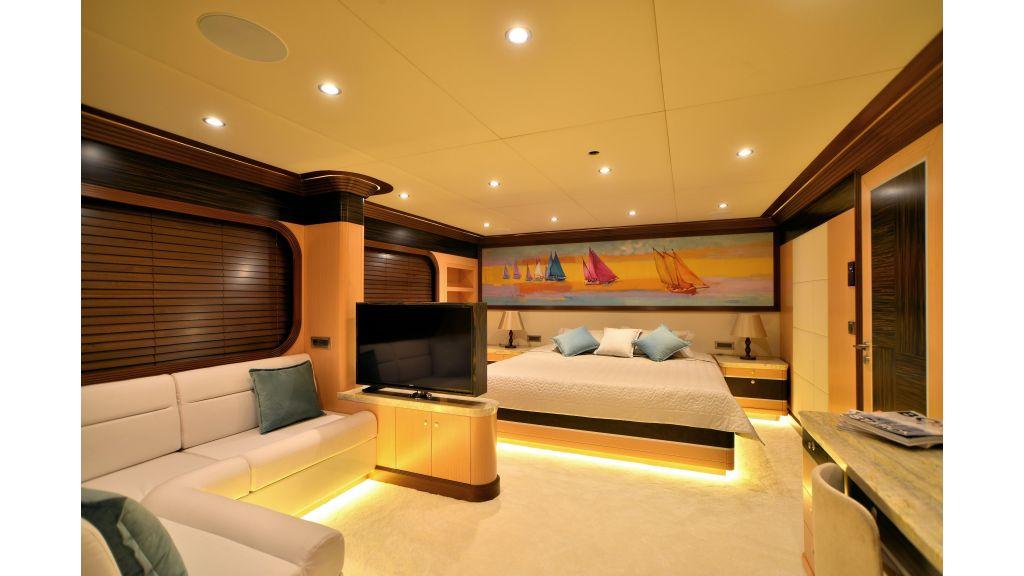 Steel Motorsailer Yacht (1)