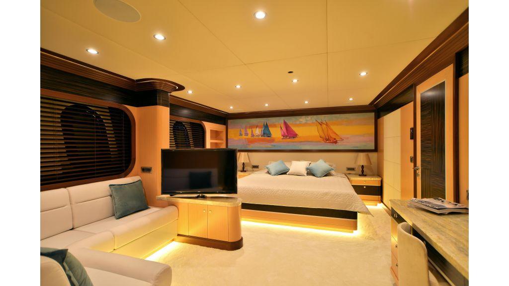 Steel Motorsailer Yacht (3)