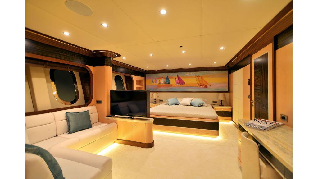 Steel Motorsailer Yacht (7)