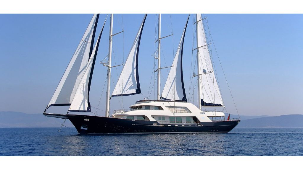 Steel Motorsailing Yacht master