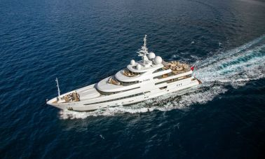 Naia Luxury Charter Yacht master