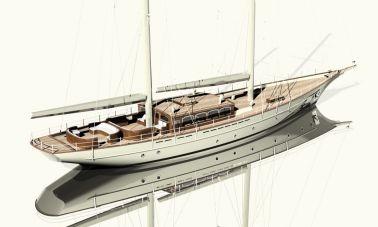 40m Sailing Yacht Abandoned