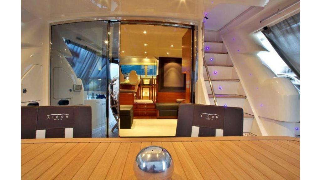 icon 64 ft motor yacht