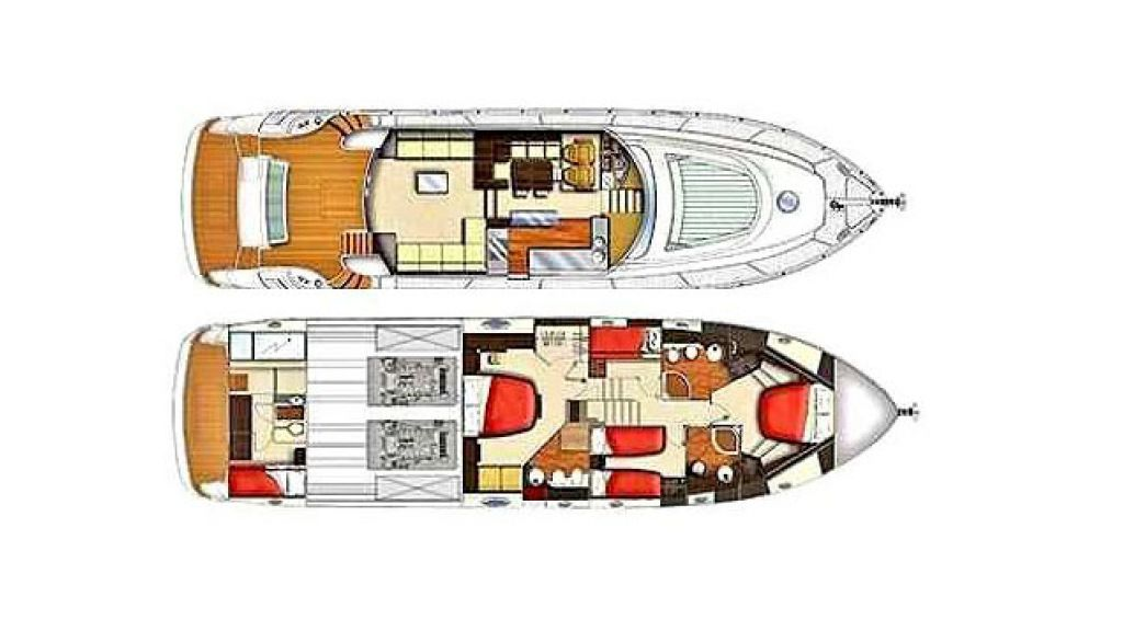 icon 64 ft motor yacht