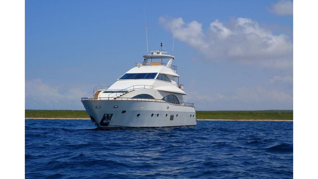 Three Deck Motor Yacht