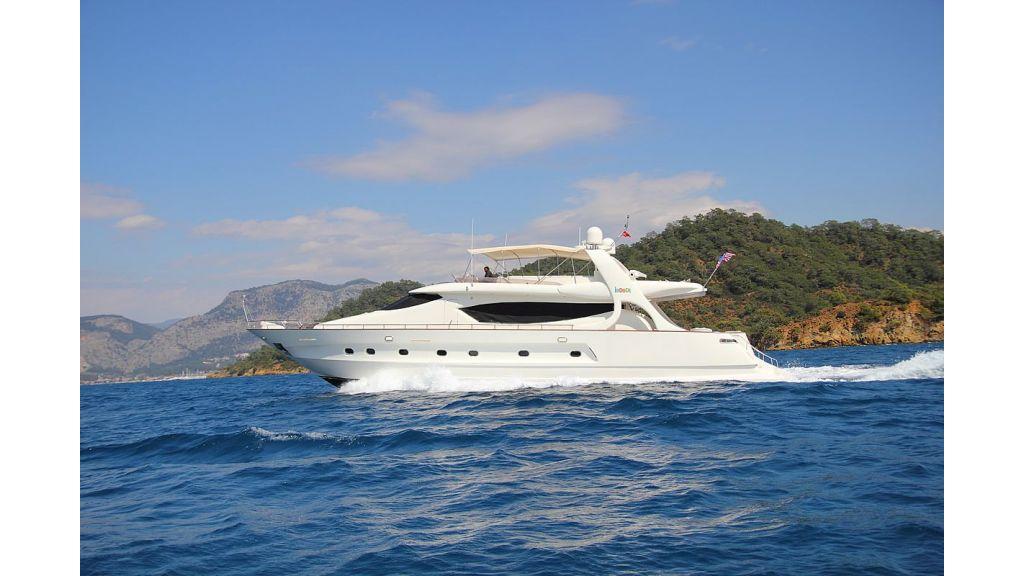 Irdode Motor yacht
