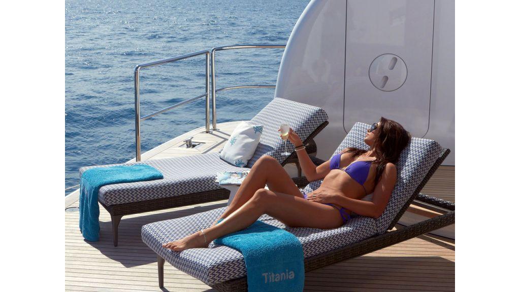 Titania mega-yacht master