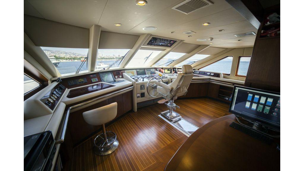 Destıny Luxury Motor Yacht master.