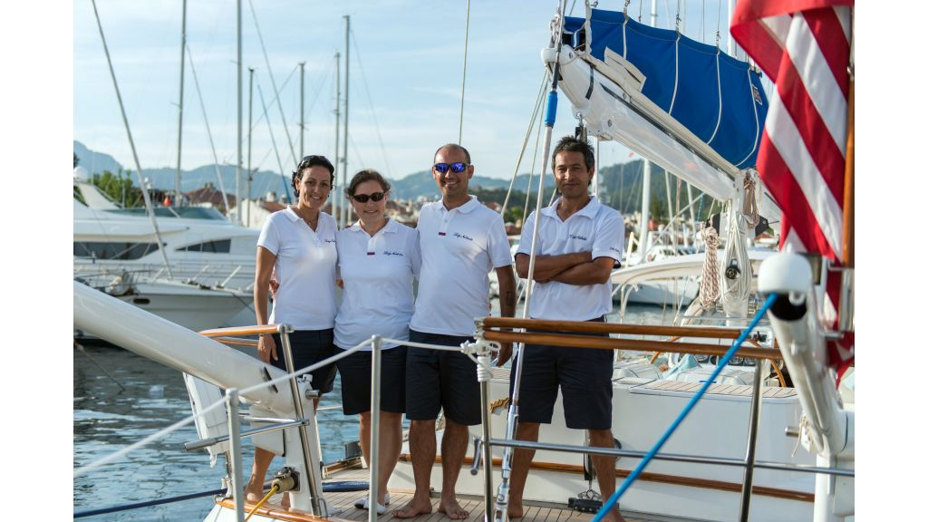Lady Nathalie-Luxury Sailing Yacht master
