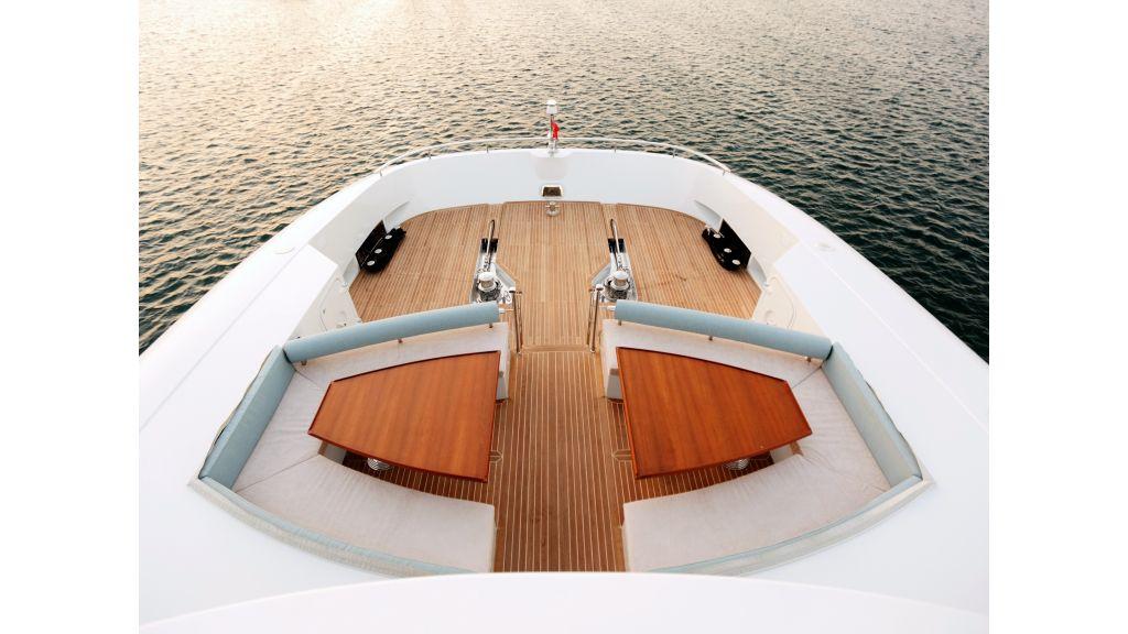 Quaranta Fore deck