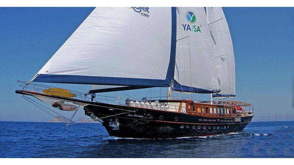 Sea Dream luxury Gulet Charter master