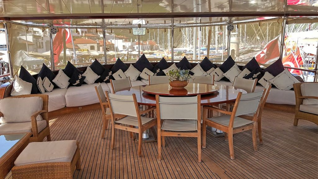 Sea Dream luxury Gulet Charter-master