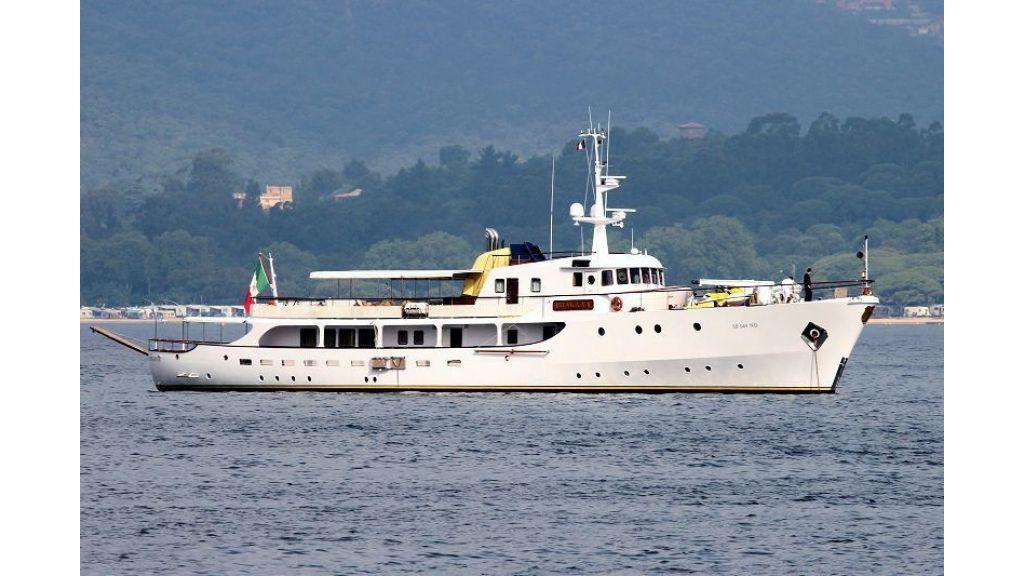 Sophisticated luxury yacht (14)