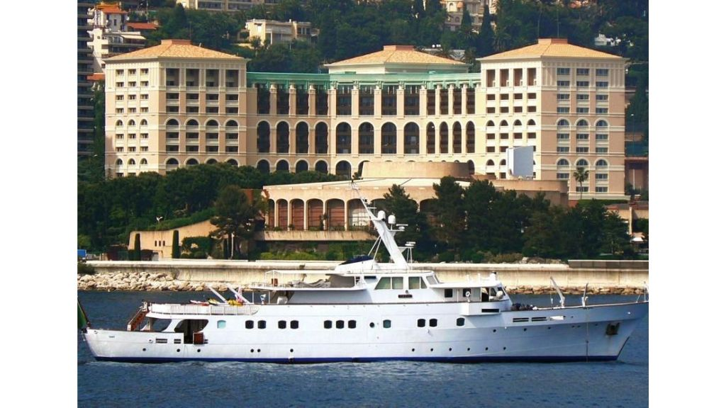 Sophisticated luxury yacht (5)